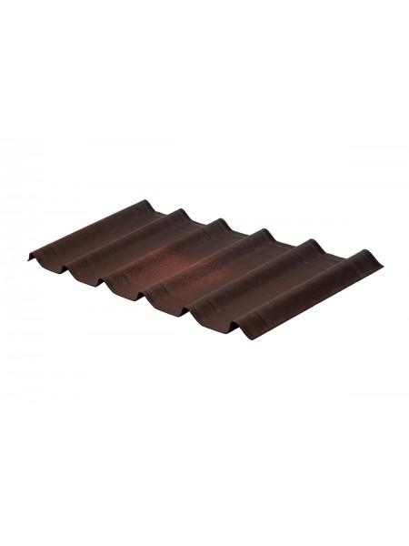 Ондулин SMART лист коричневый 0,95*2,0м