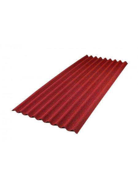 Ондулин SMART лист красный 0,95*2,0м