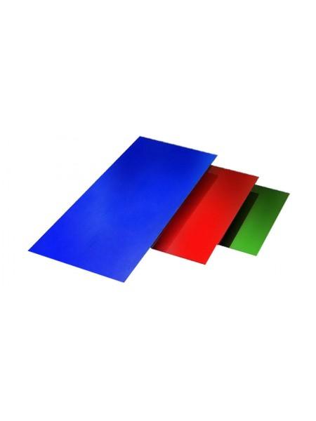 Лист гладкий цветной в ассортименте 1,0*2,0м