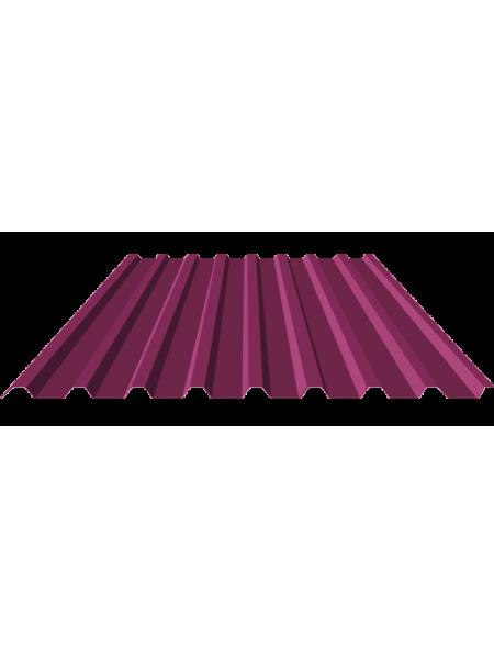 Профнастил цветной (ширина 1,150 см, рабочая 1,100 см)